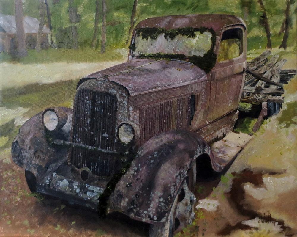 1934 Dodge - 16 X 20