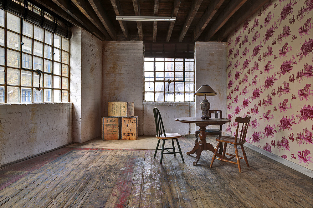The PINK ROOM - one of the Factory Space's, Breakout areas