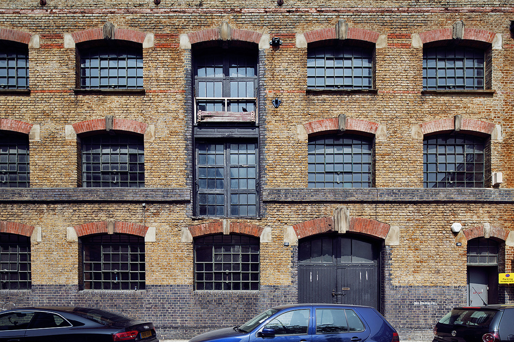 Tanner Street FRONT - Classic Dock warehouse style.