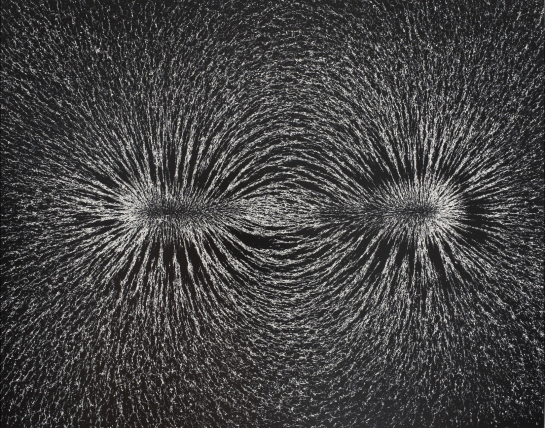 "Spotlight: ""Magnetic Field"" by Berenice Abbott"