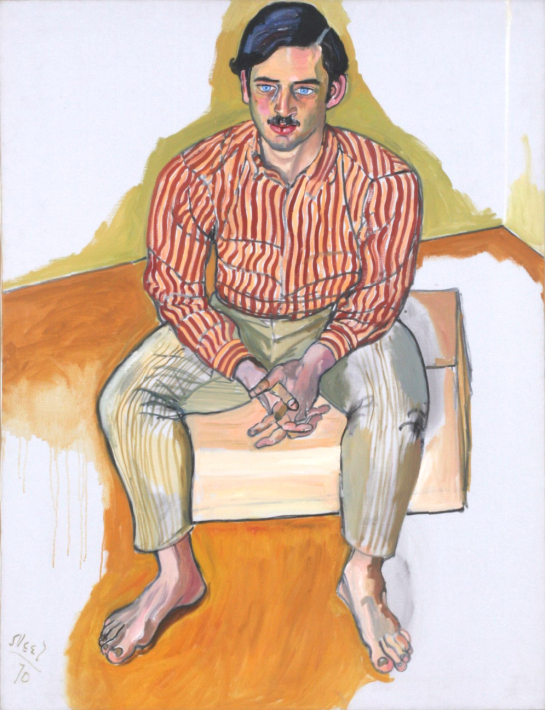 "Spotlight: ""John Mollenkopf"" by Alice Neel"