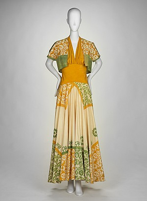 Ask Liz how this dress from the RISD Museum Collections inspired her to write a book