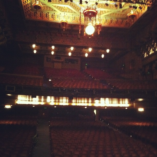 Probably my only opportunity to appear on Broadway. Not a huge crowd this morning. (Taken with  instagram )