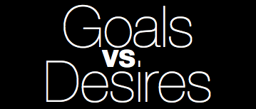 This past winter I came across a distinction that was incredibly helpful to me: Goals vs Desires.   This distinction helped to clarify my expectations and the emotions   inevitably tied to those expectations. Understanding this will help   breathe greater freedom and joy into your life and ministry; it has for  me. The  distinction is simple, but subtle. Goals are objectives under  your control; desires are not.  READ THE WHOLE POST HERE.