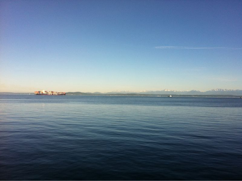 Stunning morning in Seattle!