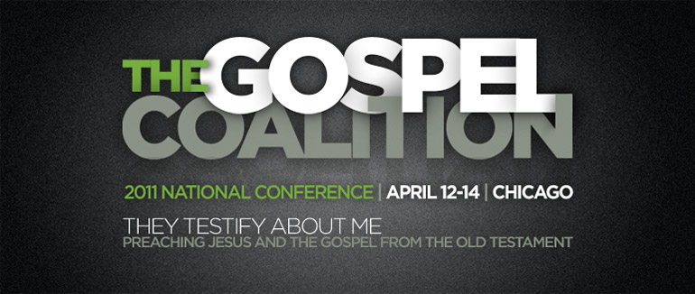 """We're happy to announce that Desiring God is partnering with  The Gospel Coalition  to  live-stream the video  for all nine plenary sessions for this week's 2011 National Conference, with the theme  They Testify About Me: Preaching Jesus and the Gospel from the Old Testament . The live-streams will be hosted on TGC's  website . If you're unable to join us for the live-stream, the video will be available on TGC's  website  within an hour after the session has ended."" (HT: Desiring God)"