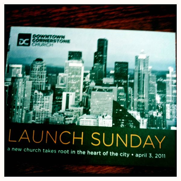 It's official. Downtown Cornerstone is launching on Sunday, April 3rd. Would love to have you join us, whether a follower of Jesus, skeptical or curious. More info at downtowncornerstone.org. Thanks for your prayers.