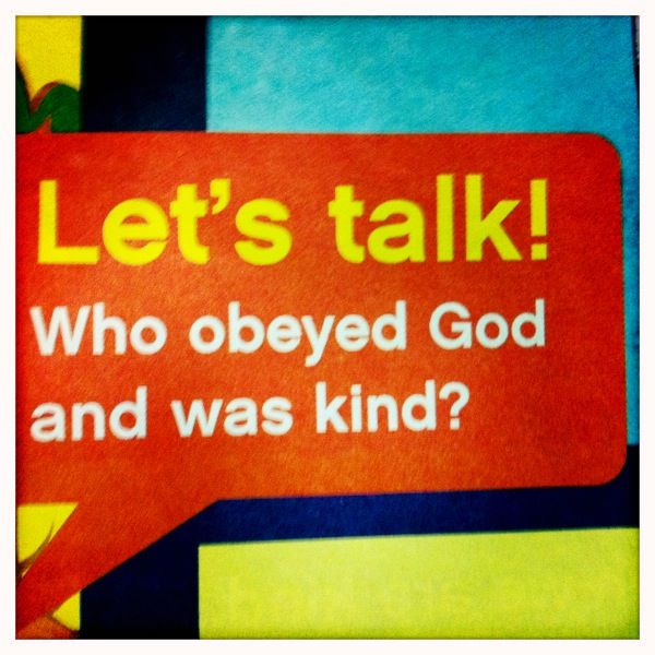 How do you know if the church you're visiting preaches moralism or gospel? They give this to your kids.
