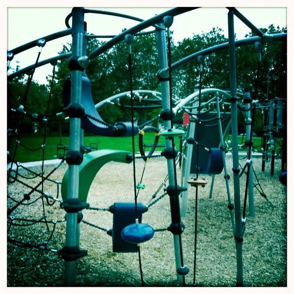 This was the most technologically advanced playground I have ever seen.