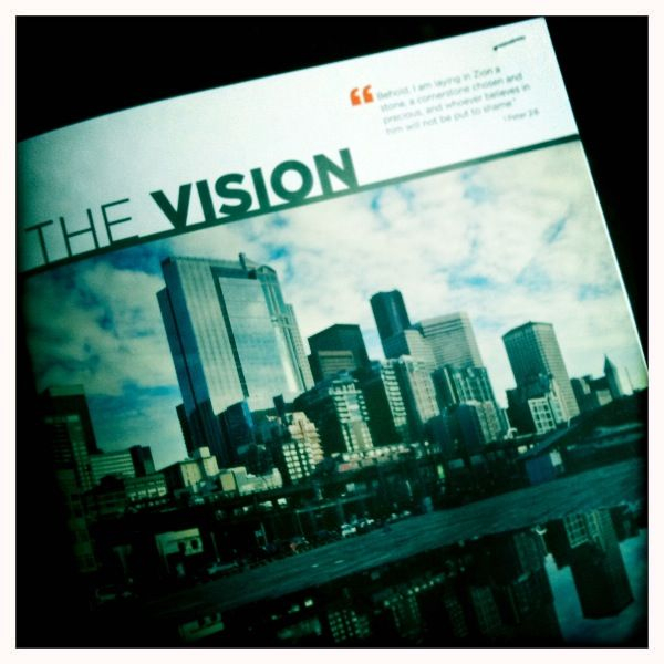 Really excited to get our Vision Prospectus printed. Looks great. Thank you, Jesus. You can read it at  www.downtowncornerstone.org/vision