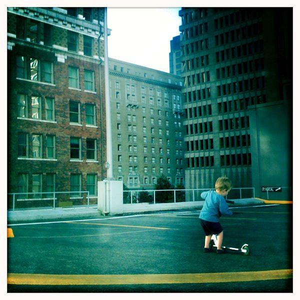 Urban playground.