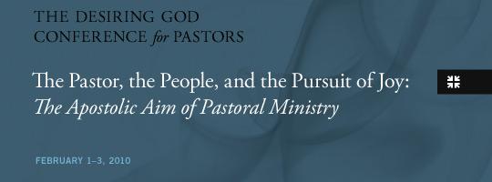 2010 Desiring God Pastor's Conference Media.