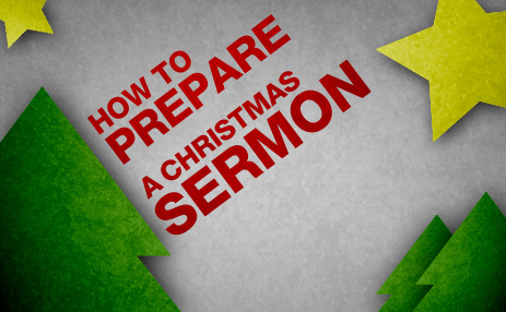 Ideas, resources, and commentary on preparing to preach a Christmas sermon from The Resurgence.