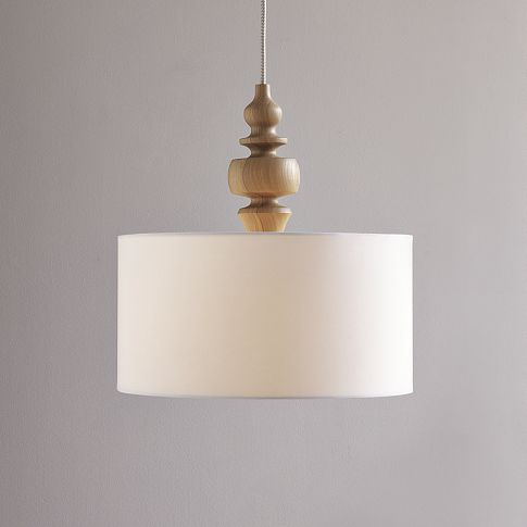 West Elm Turning Pendant