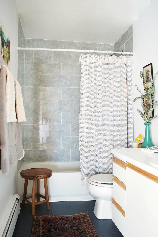 before + after: a rental bathroom — rehabitat