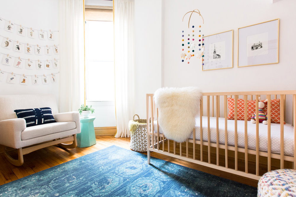 Modern Nursery - Rehabitat