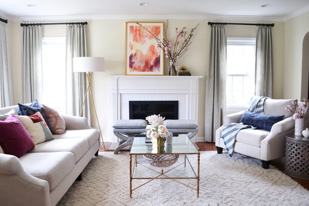 Rehabitat | Stevenson Ave Living Room