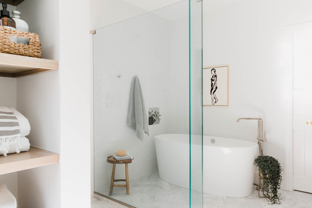 Woodpond Road Master Bath - Rehabitat