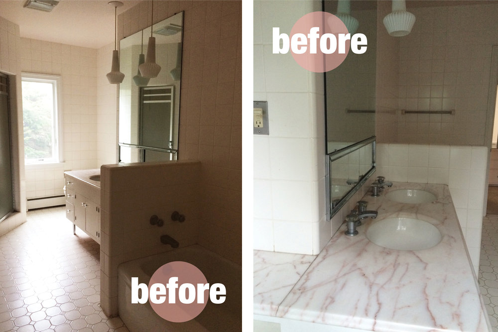 Before After Woodpond Road Master Bath Rehabitat