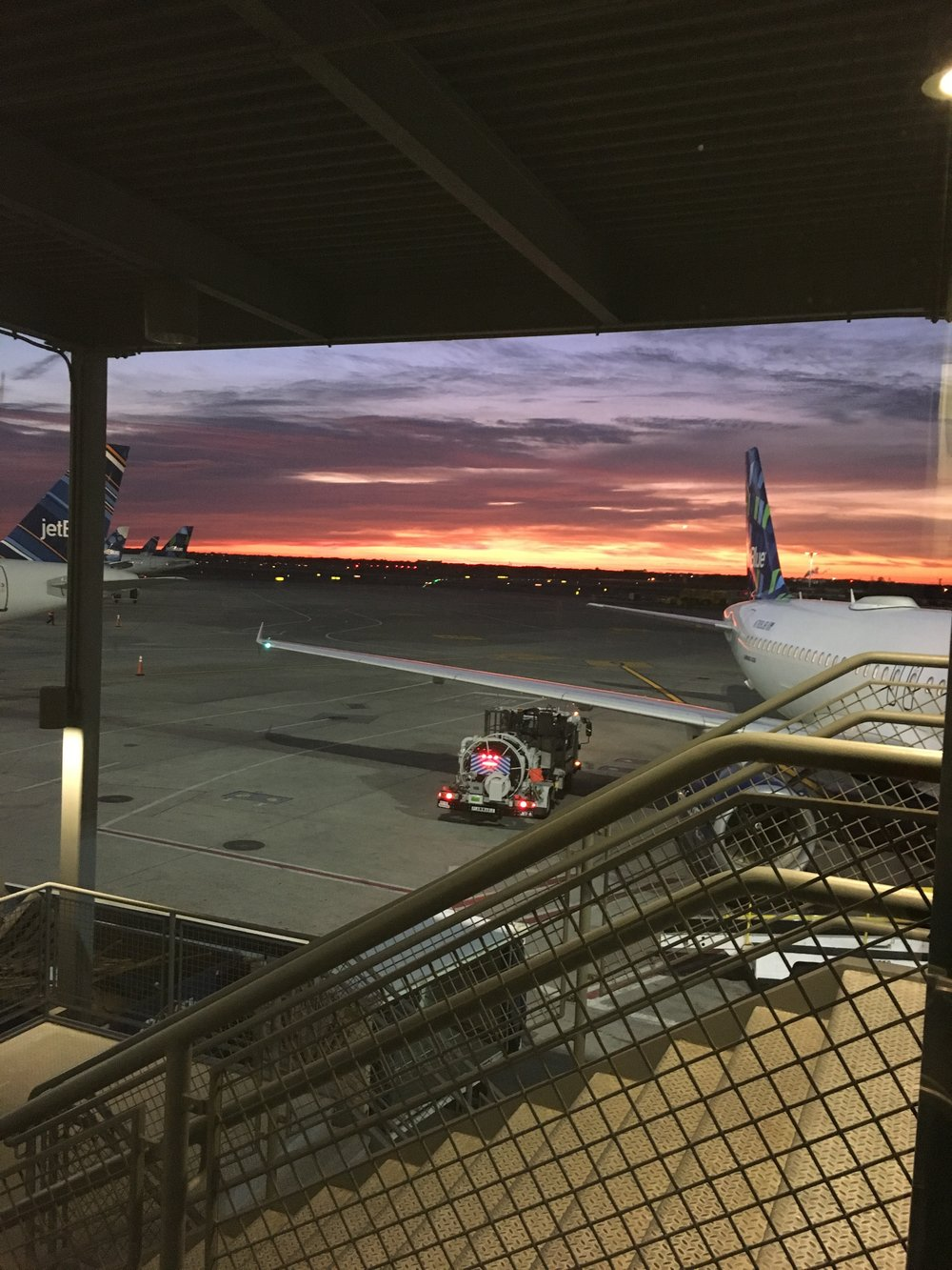 Sunrise at JFK