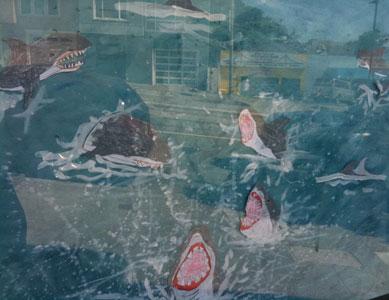 sf sharks by kate kearney