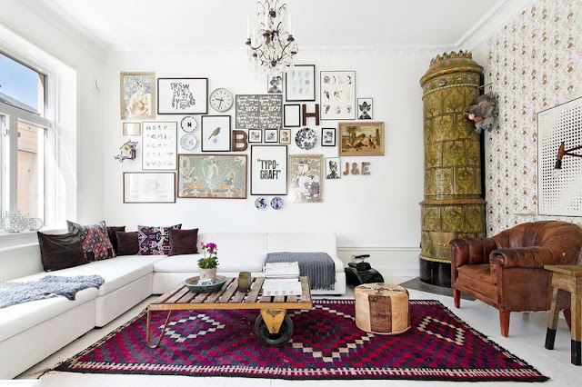 Swedish designer Lisa Bengtsson's apartment