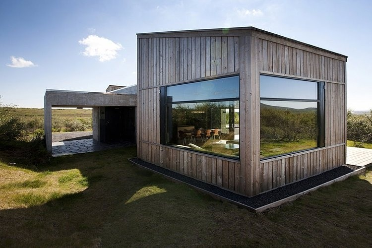 Breathtaking Icelandic Brekkuskogur Cottages designed by Arkibullan Arkitektar