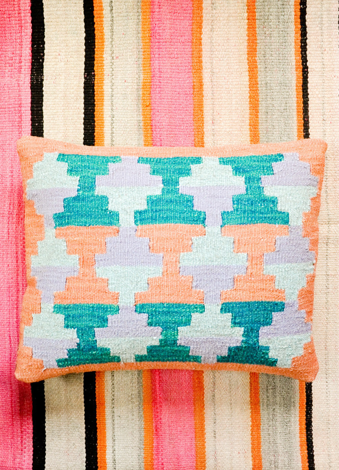Mayan Temple Pillow