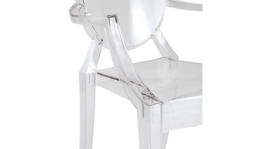 Louis Ghost Chair Phillipe Stark for Kartell