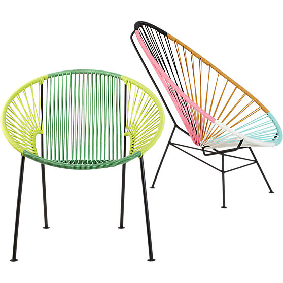 Acapulco multi lounge chair by cb2