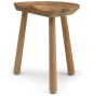 Cobbler Stool in teak by Skagerak
