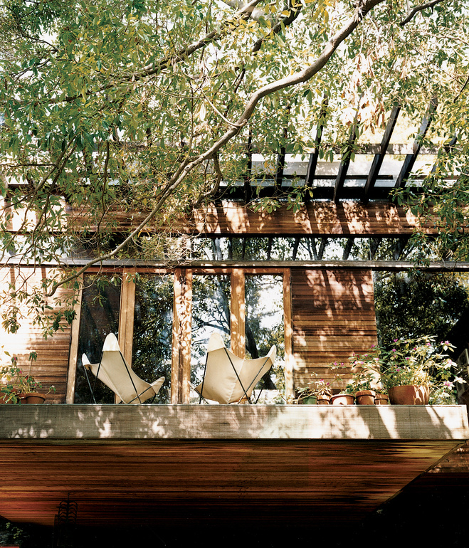 Ray Kappe's house. Photo by Joao Canziani