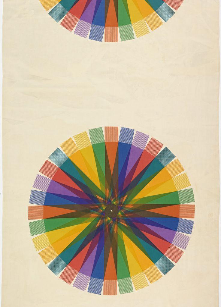 Rolf Middelboe, textile design Spectrum, 1950-55.