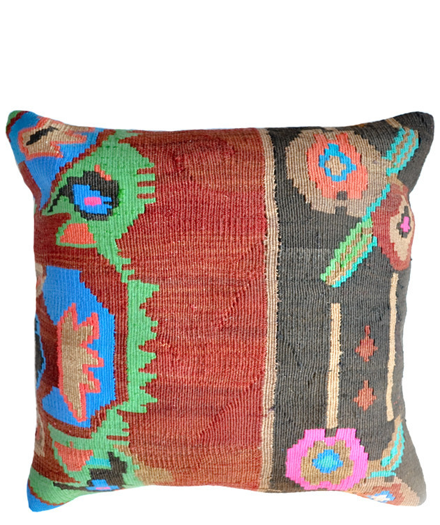 "20"" Kilim Pillow, Cabo Colormix"
