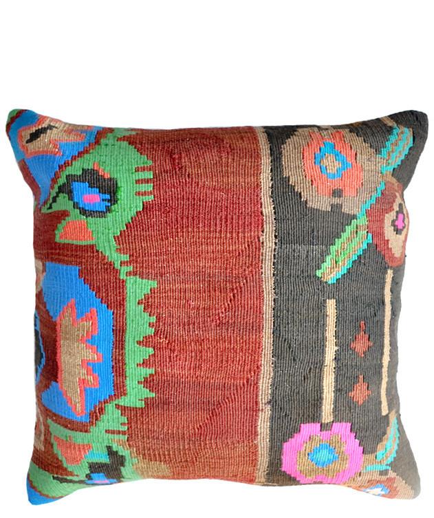 """20"""" Kilim Pillow, Cabo Colormix"""