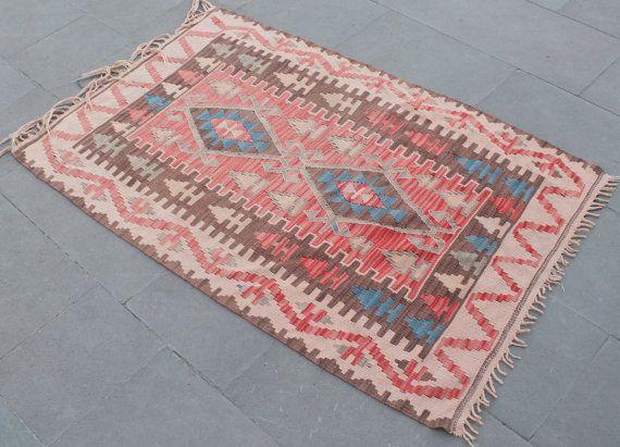 1970s vintage turkish rug via etsy