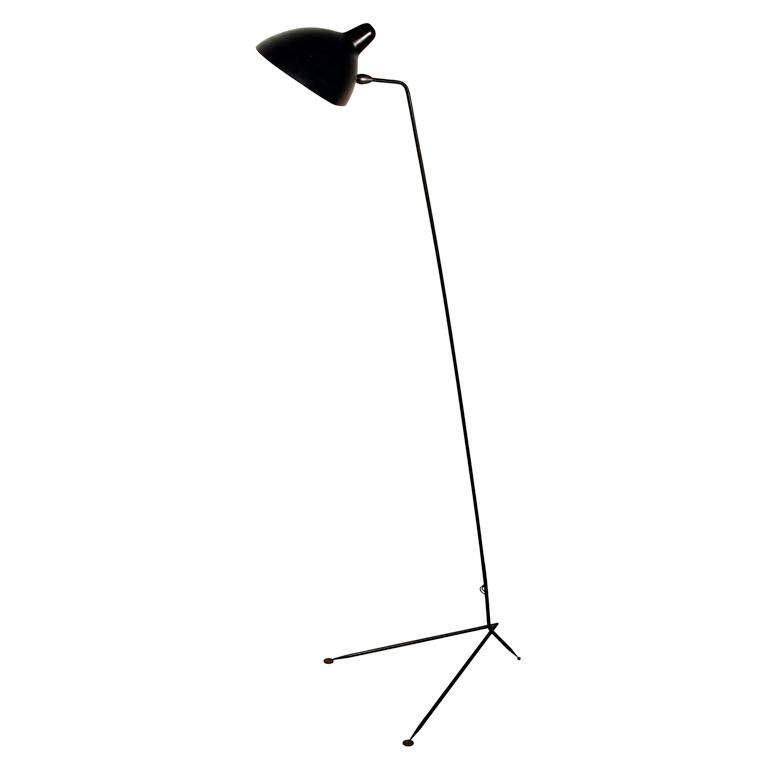 Serge Mouille floor lamp