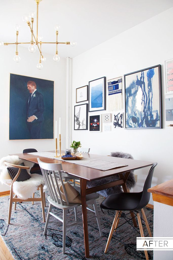 An Editor's Dining Room Makeover via lonny magazine