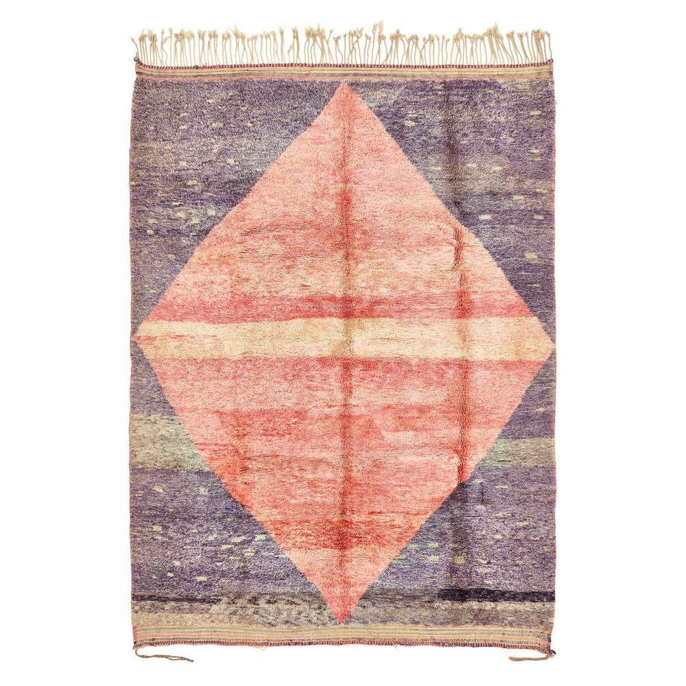 via ABC Home Company, Casablanca Moroccan Wool rug