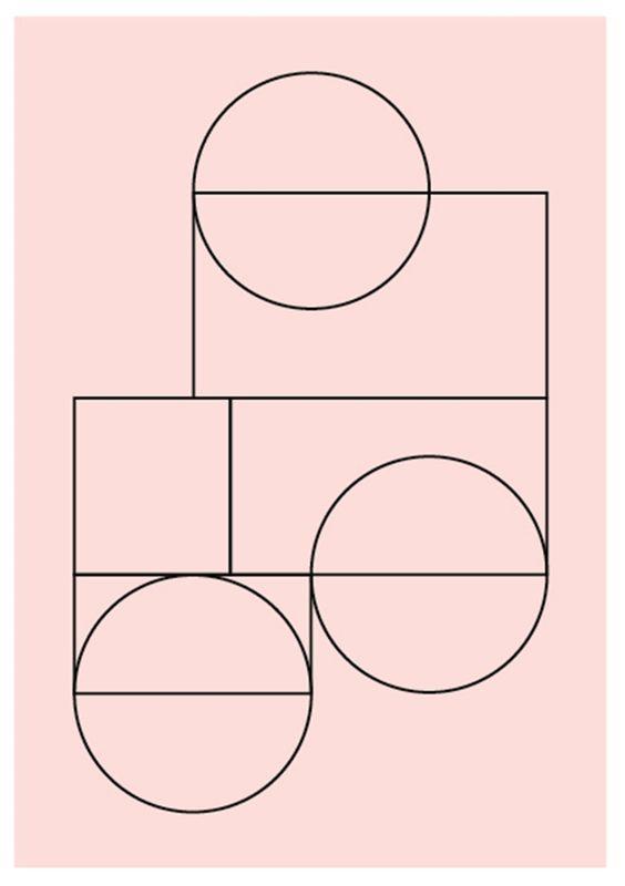 via Stilleben, Lene Norgaard print