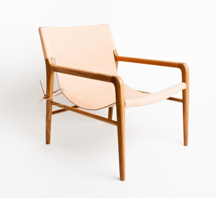 Smith - Blush natural armchair