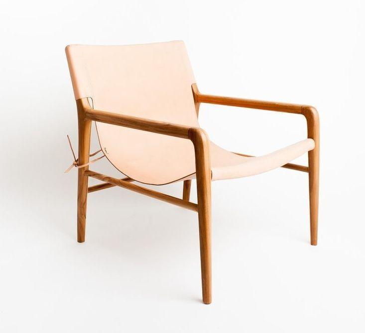 Smith - Blush natural armchair
