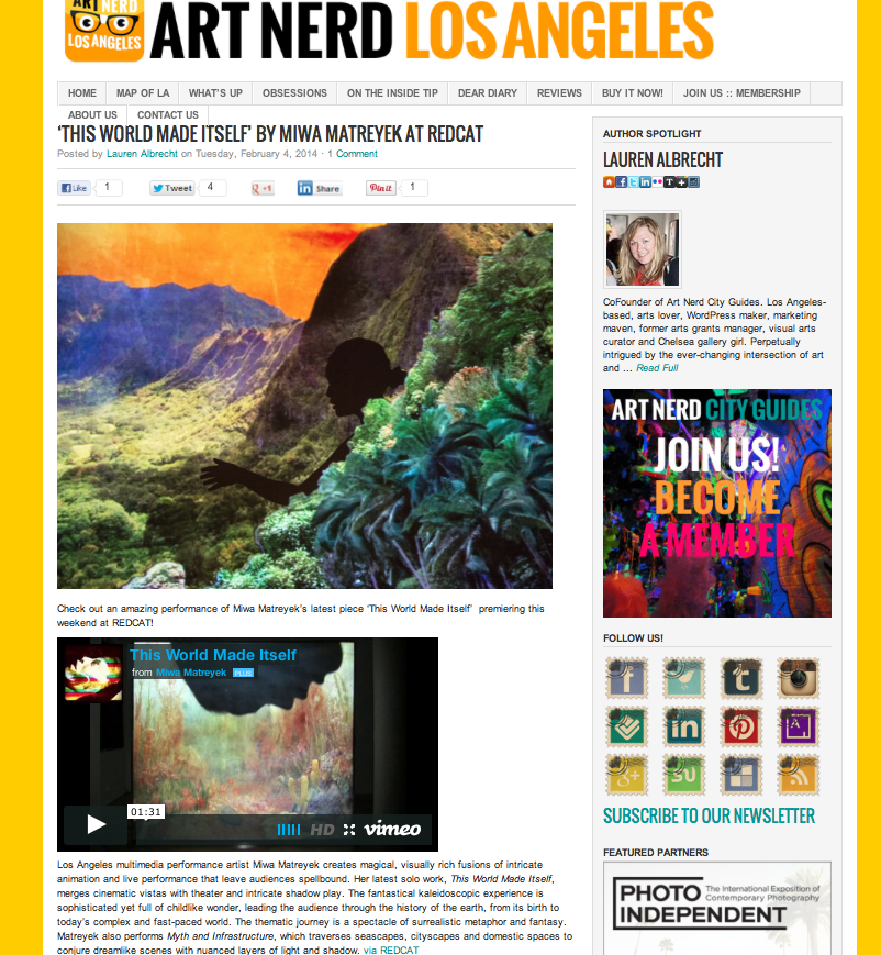 ART NERD LOS ANGELES // LA Art Blog