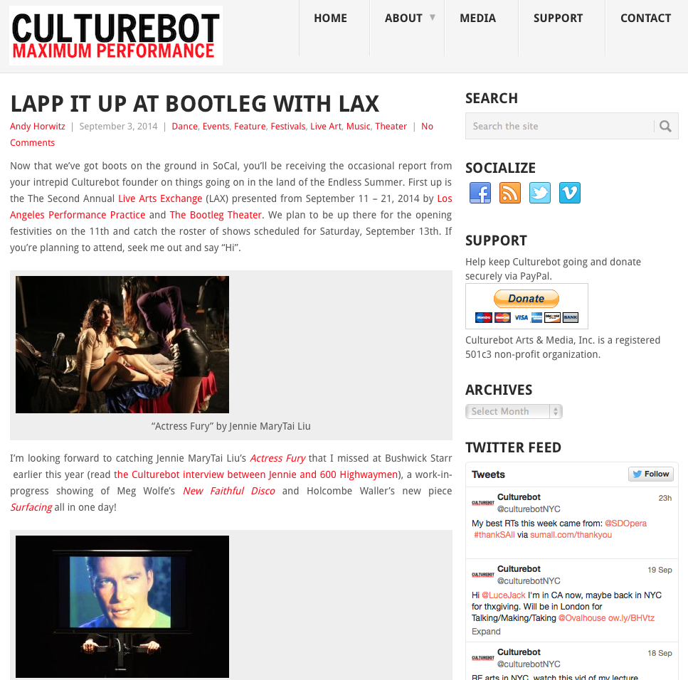 CULTUREBOT // Event Preview