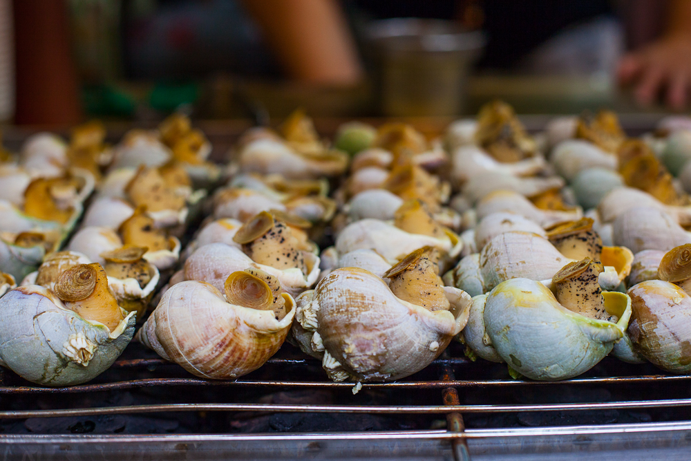 Roasted Snails