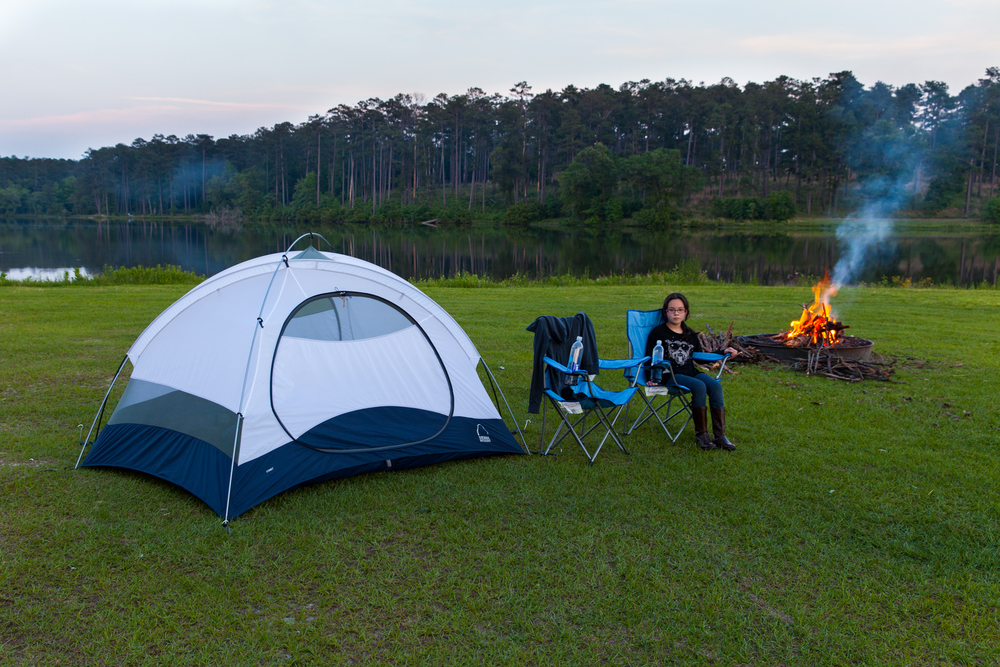 Our camp set-up.