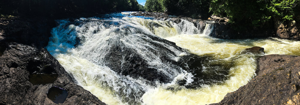 Lower Falls on the Raquette River