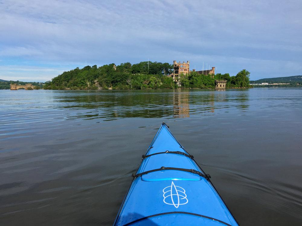 Bannerman Castle on the Hudson River