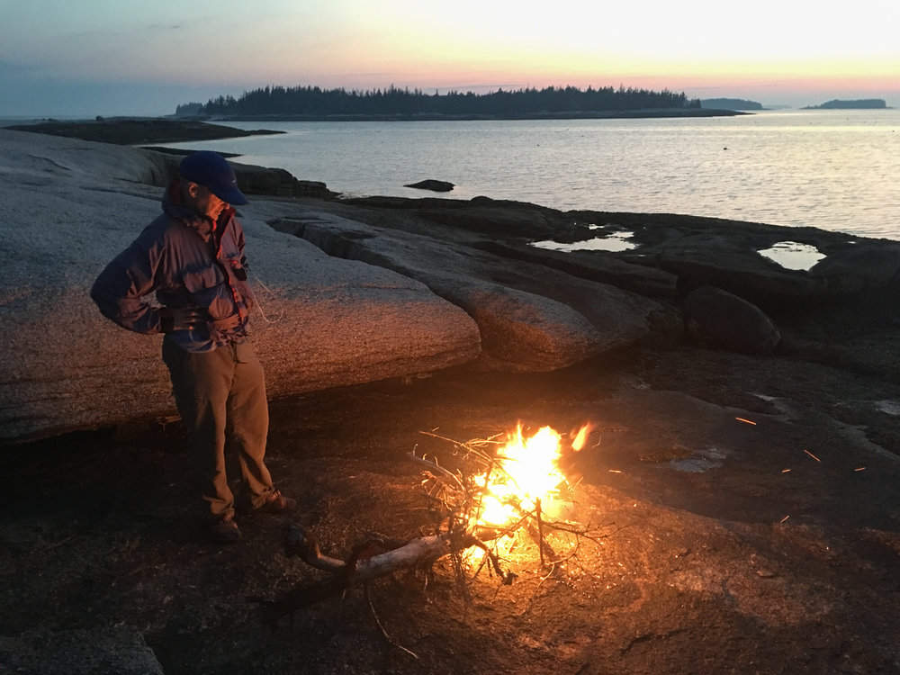 Island Camp Fire