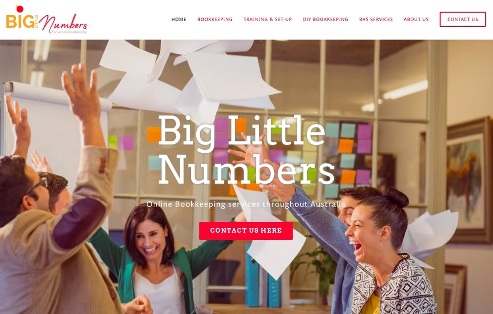 VISIT BIG LITTLE NUMBERS BOOKKEEPING